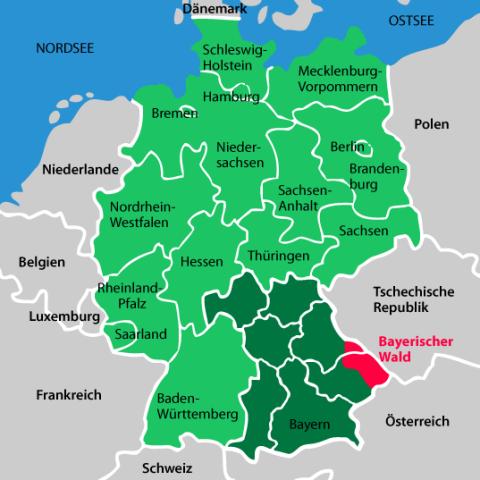Nationalpark Bayerischer Wald Karte.Der Bayerische Wald Präsentiert Sich Mit Seiner Einzigartigen